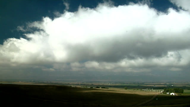 Low Cumulus clouds, timelapse