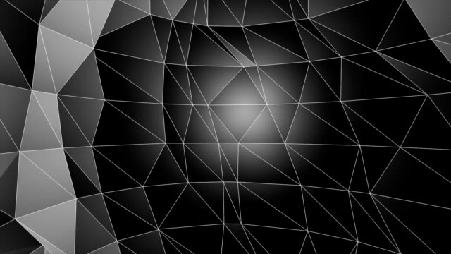 low poly abstract background. seamlessly loopable. - polygonal human face stock videos & royalty-free footage