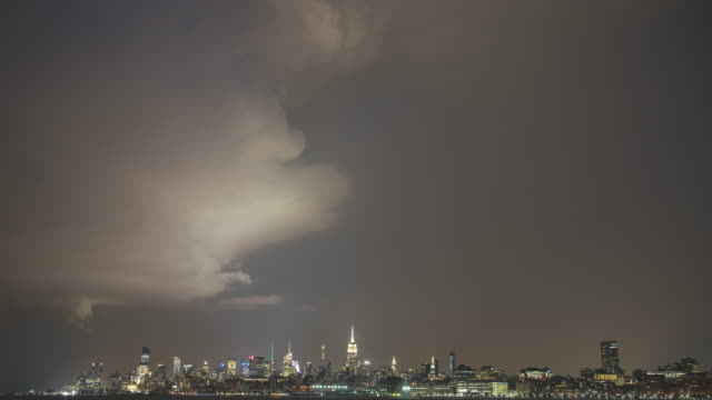 Low Pressure Super Cell Over Manhattan