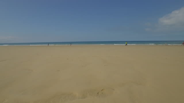 low tide beach in portugal - low tide stock videos & royalty-free footage