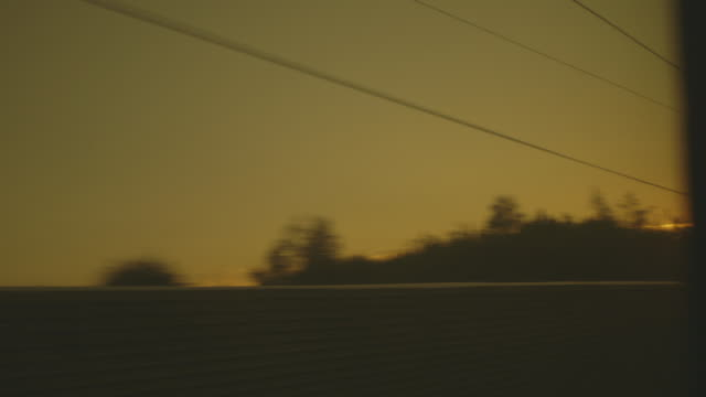 vidéos et rushes de low-angle pov sequence showing the view from a high-speed train speeding through tunnels and industrial areas in northern france. - admirer le paysage