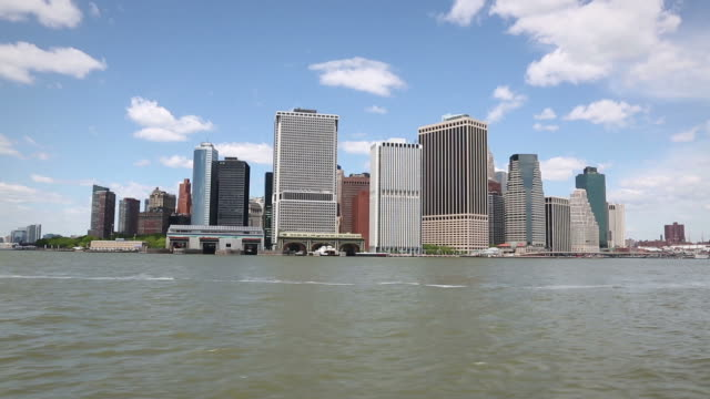 hd: lower manhattan skyline financial district, new york - september 11 2001 attacks stock videos and b-roll footage