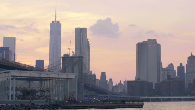 lower manhattan sunset - waterfront stock videos & royalty-free footage