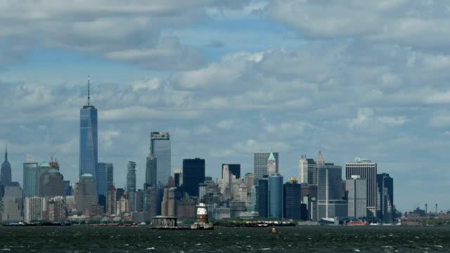 Lower Manhattan time lapse