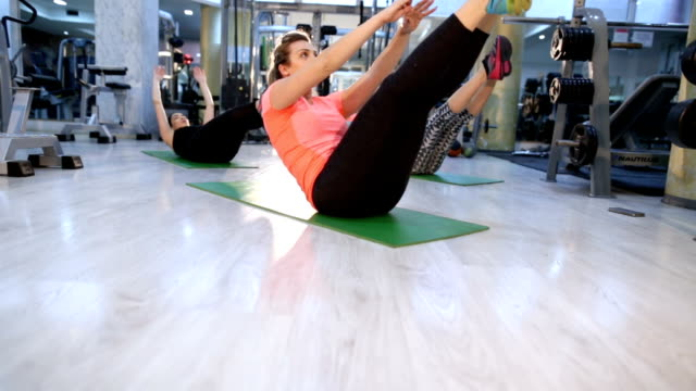 lower sit-ups work out - sports training drill stock videos & royalty-free footage
