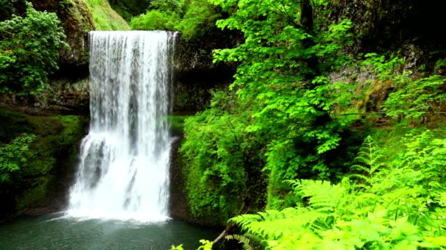 Lower South Falls, Silver Falls State Park, Oregon, USA