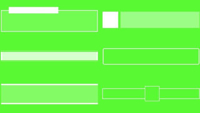 pacchetto terzi inferiori d - sezione inferiore video stock e b–roll