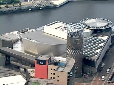 lowry centre, salford quays - salford quays stock videos & royalty-free footage