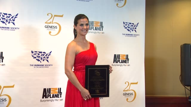 Lu Parker at the The 25th Anniversary Genesis Awards Presented By The Humane Society Of The United States at Century City CA