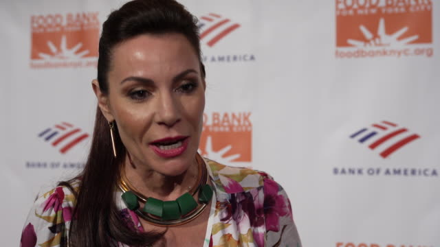 INTERVIEW Luann de Lesseps talks about the importance of giving back and supporting non profits like the Food Bank For New York City CanDo Awards at...