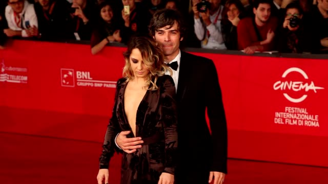 Luca Argentero and Myriam Catania at 'The Lookout' Premiere 7th Rome Film Festival at Auditorium Parco Della Musica on November 12 2012 in Rome Italy