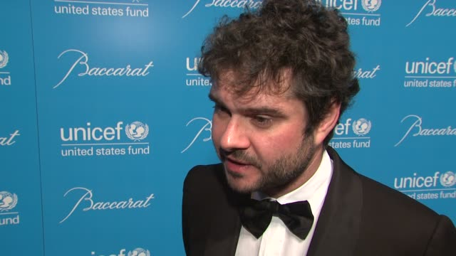 luca dotti on presenting harry belafonte with his award at 2012 unicef snowflake ball presented by baccarat at cipriani 42nd street on november 27,... - harry belafonte stock videos & royalty-free footage