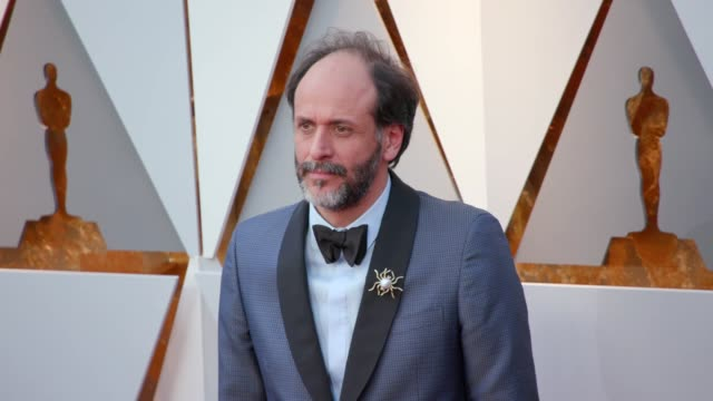 vidéos et rushes de luca guadagnino at the 90th academy awards - arrivals at dolby theatre on march 04, 2018 in hollywood, california. - the dolby theatre