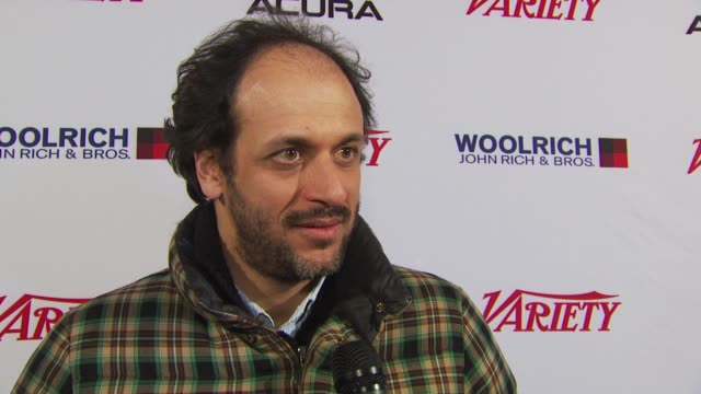 Luca Guadagnino on being at the festival and what it means to him at the Variety's 10 Directors To Watch 2010 Sundance Film Festival 2010 at Park...
