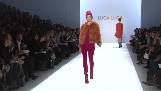 Luca Luca Fashion Show Mercedes Benz Fashion Week Fall 2011 New York NY United States 02/10/11