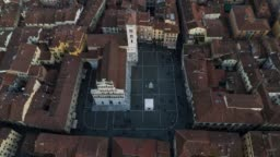 Lucca - San Michele in Foro - Birds Eye View