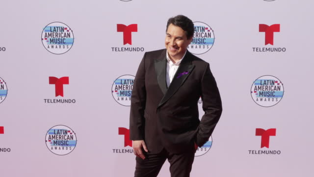 lucho borrego at the latin american music awards 2019 at dolby theatre on october 17 2019 in hollywood california - the dolby theatre video stock e b–roll