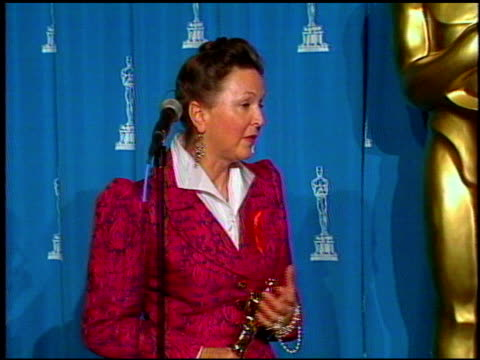 luciana arrighi and ian whittaker at the 1993 academy awards at dorothy chandler pavilion in los angeles california on march 29 1993 arrighi and... - societal symbol stock videos & royalty-free footage