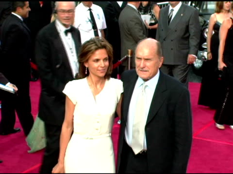luciana pedraza and robert duvall at the 33rd afi life achievement award 'a tribute to george lucas' at the kodak theatre in hollywood, california on... - afi life achievement award stock videos & royalty-free footage