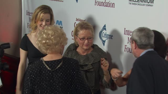 lucy boyle, doris roberts, loraine boyle at the international myeloma foundation's 3rd annual comedy celebration at los angeles ca. - doris roberts stock videos & royalty-free footage
