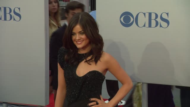lucy hale at 2012 people's choice awards - arrivals on 1/11/12 in los angeles, ca. - people's choice awards stock videos & royalty-free footage