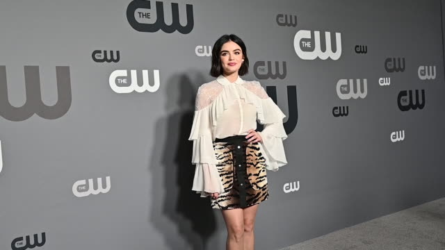 Lucy Hale at the 2019 CW Network Upfront at New York City Center on May 16 2019 in New York City