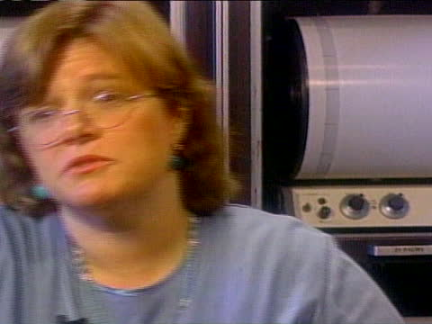 lucy jones of the u.s. geological survey describes the rapid movement of an earthquake. - expertise stock videos & royalty-free footage