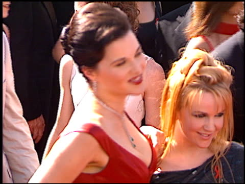 Lucy Lawless at the 1998 Emmy Awards at the Shrine Auditorium in Los Angeles California on September 13 1998