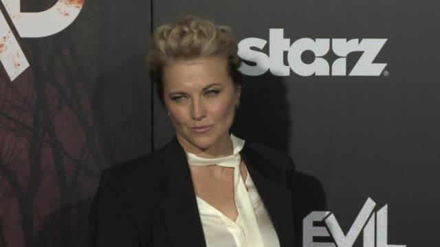Lucy Lawless at the Ash Vs Evil Dead Los Angeles Premiere And Live Performance By Iggy Pop at TCL Chinese Theatre on October 28 2015 in Hollywood...