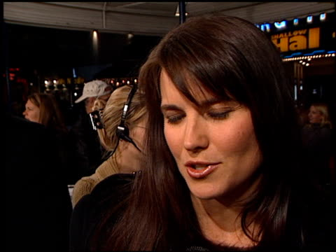 Lucy Lawless at the 'Black Knight' Premiere on November 15 2001