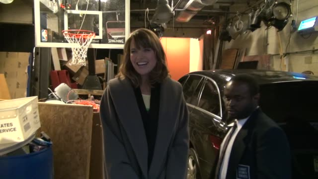 Lucy Lawless at the 'LIVE with Kelly' studio in New York on 1/23/2012