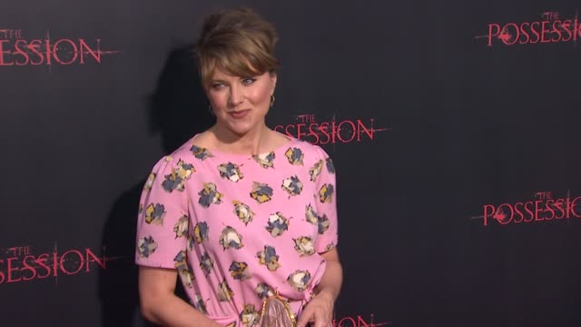 Lucy Lawless at The Possession Los Angeles Premiere 8/28/12 in Los Angeles CA