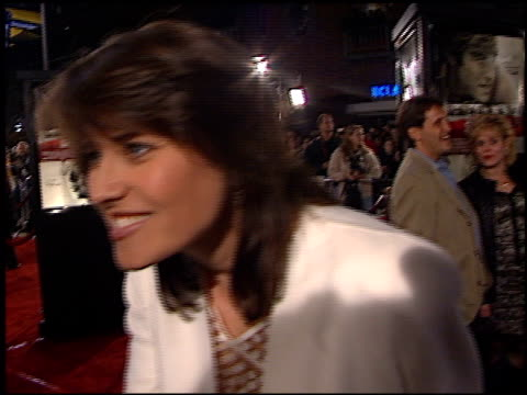 Lucy Lawless at the 'Spy Game' Premiere on November 19 2001