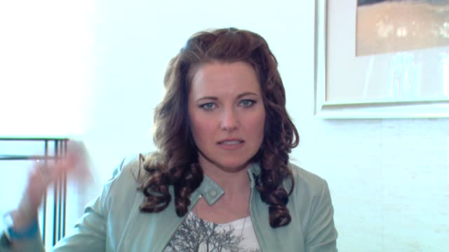 Lucy Lawless on the character at the ComicCon 2009 Lucy Lawless Interview at San Diego CA