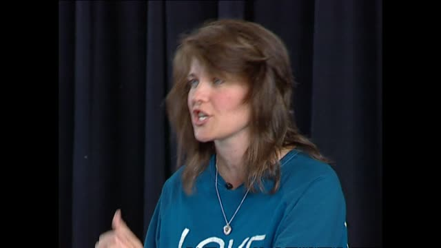 lucy lawless reading part of her dialogue in play the vagina monologues in 2002 - vagina stock videos & royalty-free footage