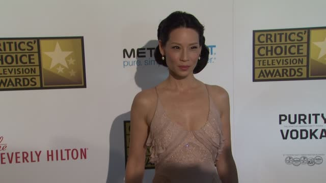 lucy liu at 2012 critics' choice television awards lucy liu at 2012 critics' choice television awards at the beverly hilton hotel on june 18, 2012 in... - lucy liu stock videos & royalty-free footage