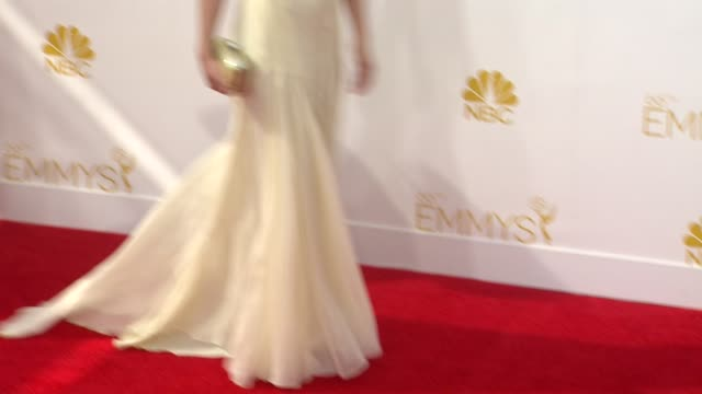 lucy liu at 66th primetime emmy awards - arrivals in los angeles, ca 8/25/14 - lucy liu stock videos & royalty-free footage