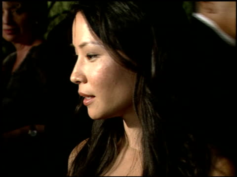 lucy liu at the 2000 hbo emmy party at spago in beverly hills, california on september 10, 2000. - lucy liu stock videos & royalty-free footage