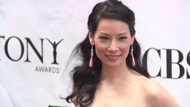 Lucy Liu at the 64th Annual Tony Awards at New York NY