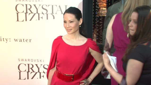 Lucy Liu at the Blake Lively Hosts Grand Opening of Swarovski CRYSTALLIZED Concept Store at New York NY