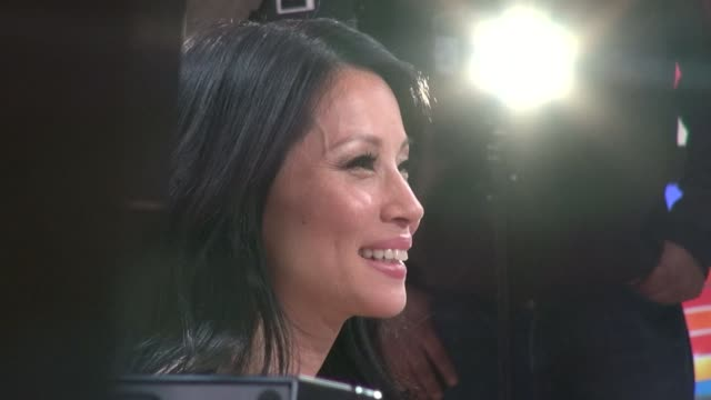 lucy liu at the 'good morning america' studio lucy liu at the 'good morning america' studio on april 18, 2012 in new york, new york - lucy liu stock videos & royalty-free footage