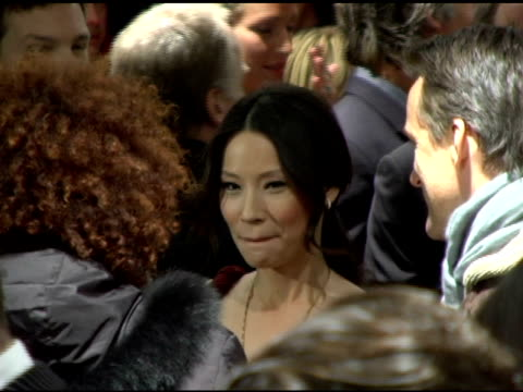 Lucy Liu at the 'Lucky Number Slevin' New York Premiere at the Ziegfeld Theatre in New York New York on March 21 2006