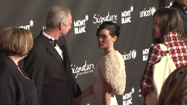 Lucy Liu at the Montblanc Signature for Good Event In Association With UNICEF at Los Angeles CA