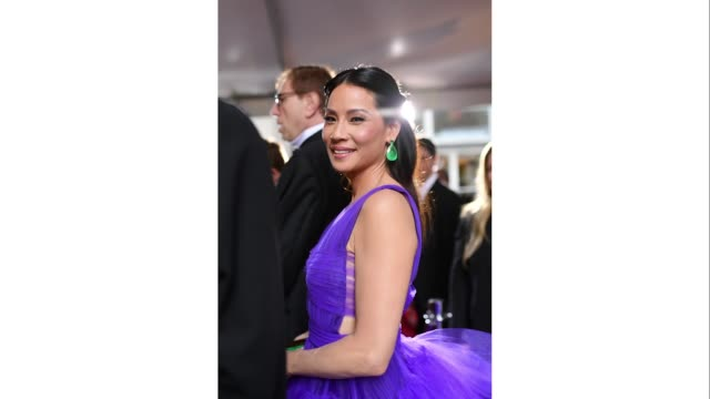 stockvideo's en b-roll-footage met lucy liu attends the 73rd annual tony awards at radio city music hall on june 09 2019 in new york city - radio city music hall