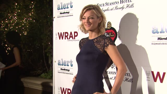 lucy walker at thewrap.com pre-oscar party on 2/22/2012 in beverly hills, ca. - oscar party stock videos & royalty-free footage