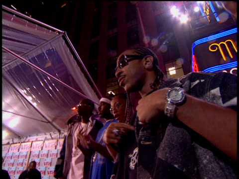 ludacris arriving at the red carpet of the 2002 mtv mtv video music awardss. - 2002 stock videos & royalty-free footage