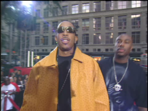 ludacris arriving to the 2003 mtv video music awards red carpet - 2003年点の映像素材/bロール