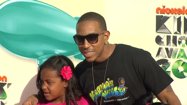 ludacris at nickelodeon's 25th annual kids' choice awards on 3/31/2012 in los angeles ca - ludacris stock videos & royalty-free footage