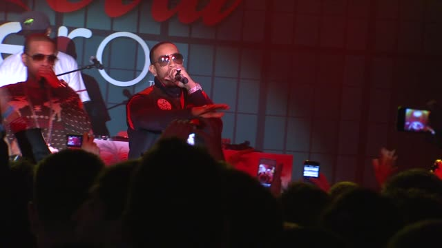 ludacris at patron presents the maxim party featuring cocacola zero countdown with paul mitchell on 2/4/12 in indianapolis in - ludacris stock videos & royalty-free footage