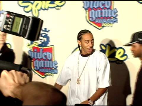 ludacris at the 2004 video game awards at barker hanger in santa monica california on december 14 2004 - ludacris stock videos & royalty-free footage